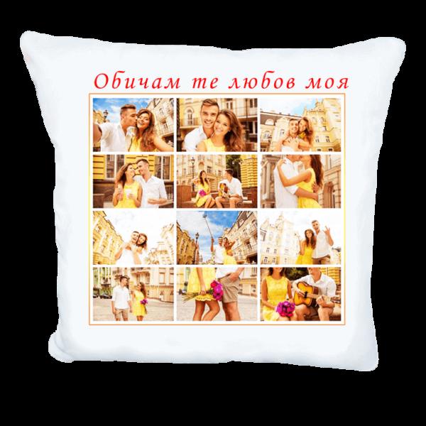 Възглавничка със снимки