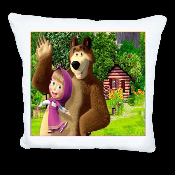 Маша и мечока възглавничка