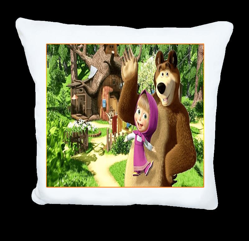 Подарък за дете - възглавничка с Маша и мечокът