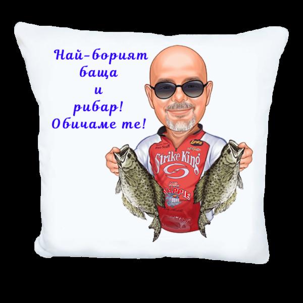 Карикатура за Рибар