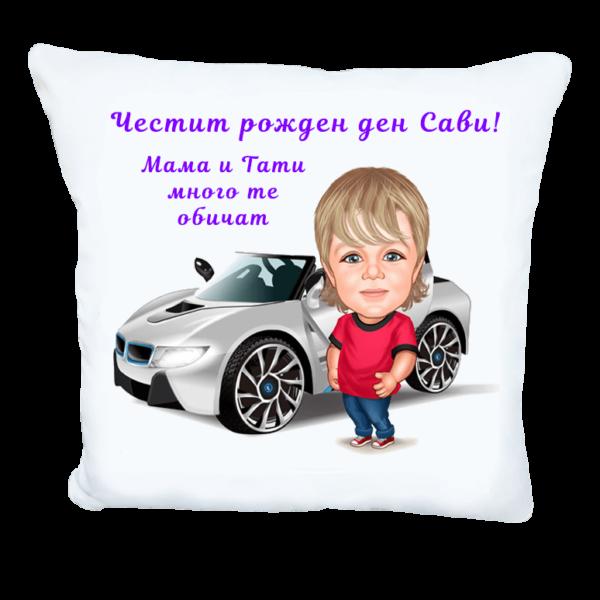 Карикатура с BMW