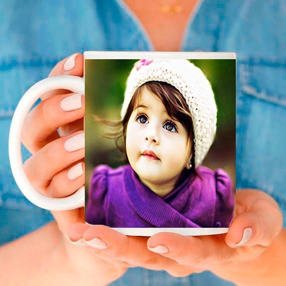 Чаша със снимки за дете